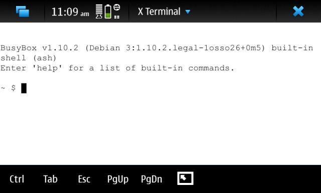 N900 X Terminal