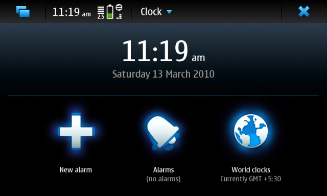 N900 Clock